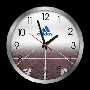 Adidas Wanduhr bedruckt