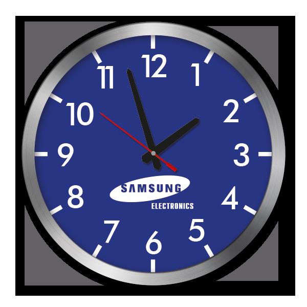 P300 Premium-Wanduhr Samsung PNG