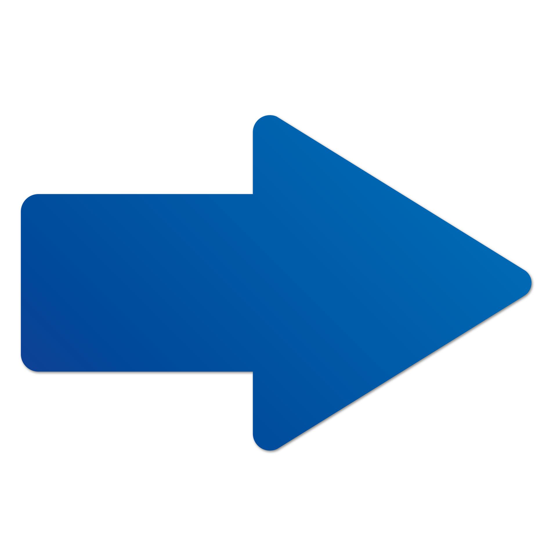 Pfeil Rechts Blau